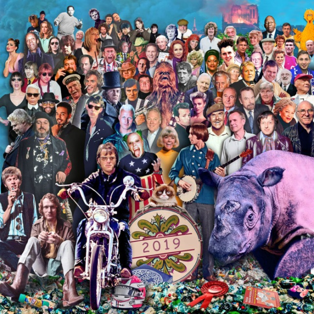 Iconic Sgt. Pepper Artwork updated for 2019 with Ginger Baker, Scott Walker and others